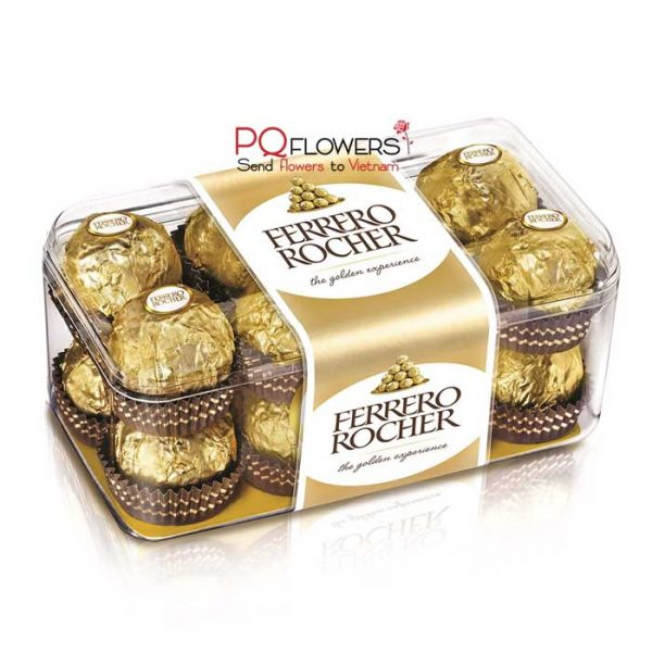 ferrero rocher 16 pieces - send gifts to vietnam