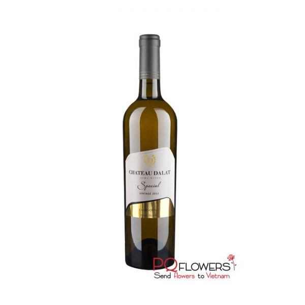 Chateau Dalat Special Chardonnay 750ml - send gifts to vietnam-210321