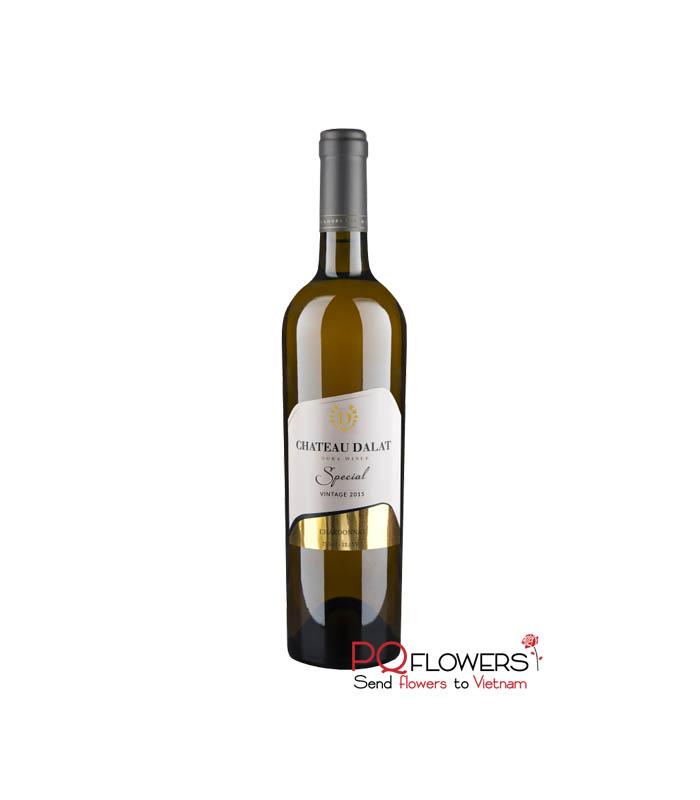 Chateau Dalat Special Chardonnay 750ml - send gifts to vietnam-210321