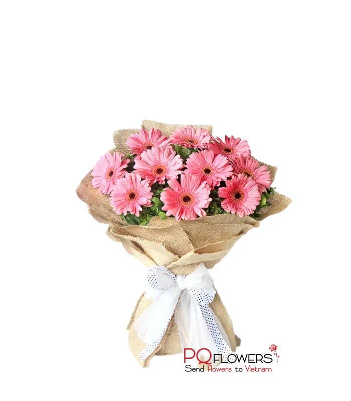 Surprise - Gerberas Bouquet 7589-flowers-to-vietnam-300321