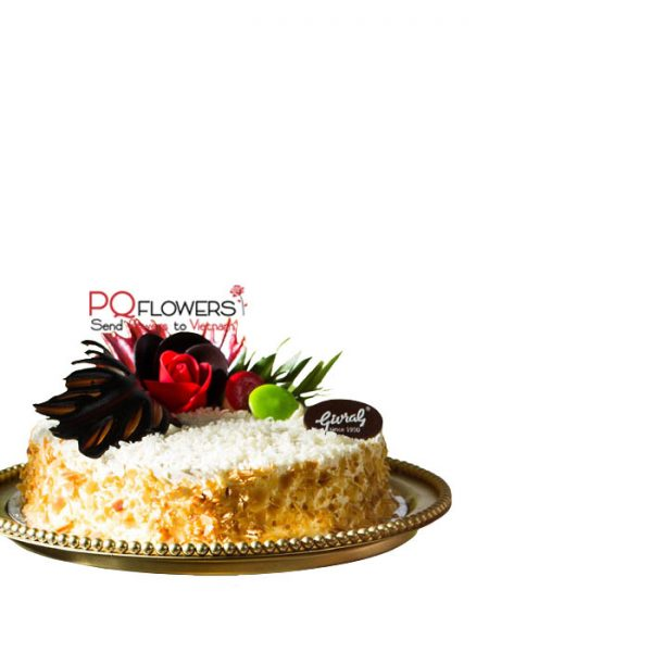 Sweet Corn Cake 7793 - Vietnamese birthday cakes-090421